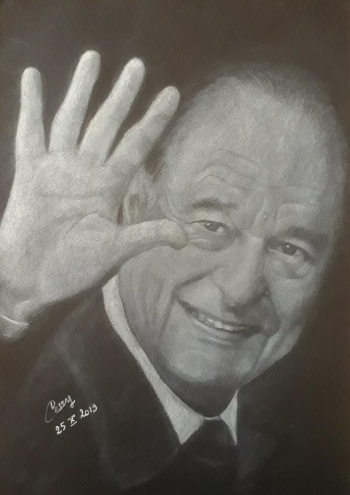 Jacques Chirac par Cessydu31